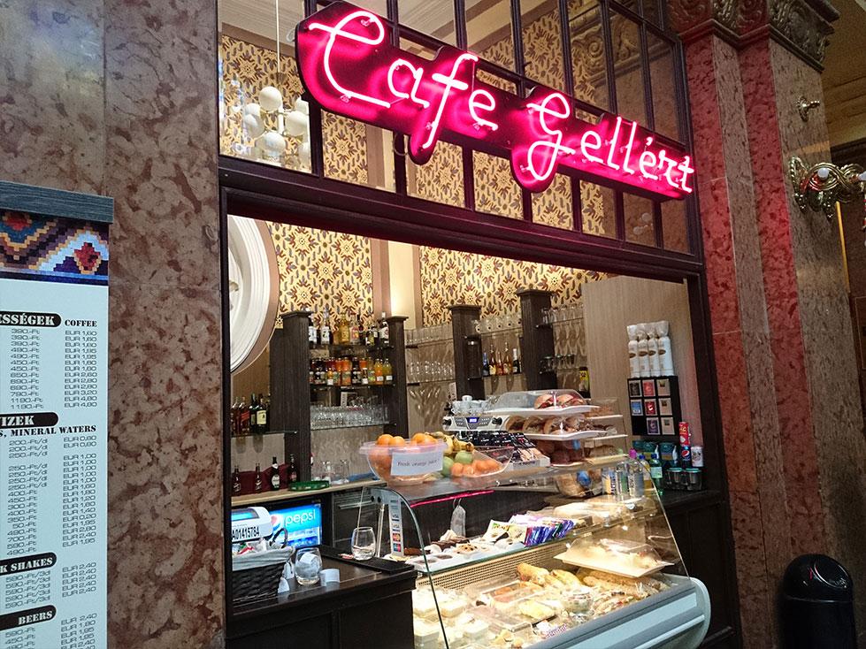 Gellér Fürdő - Gellért Café Front